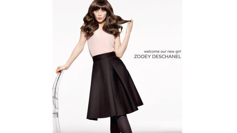 Zooey Deschanel is the New Scalp of Pantene