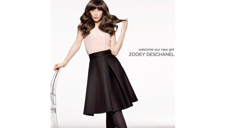 Zooey Deschanel is the New Scalp of Pantene