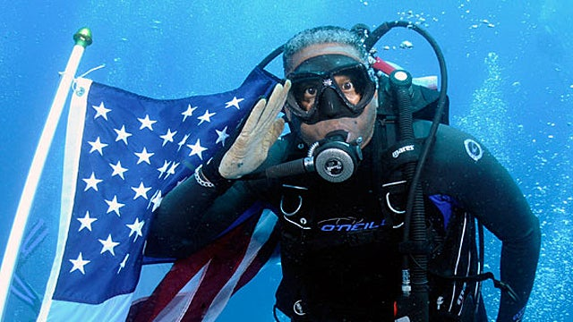 Tea Party Congressman Drowns American Flag