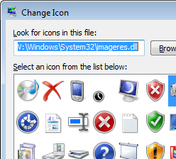 UltraNewb: Customize your Windows icons