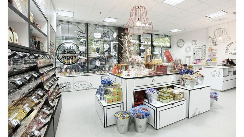 Amazing Candy Store Looks Like It Was Drawn By Kids