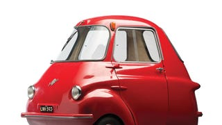 The Scootacar - A Drivable Phonebooth