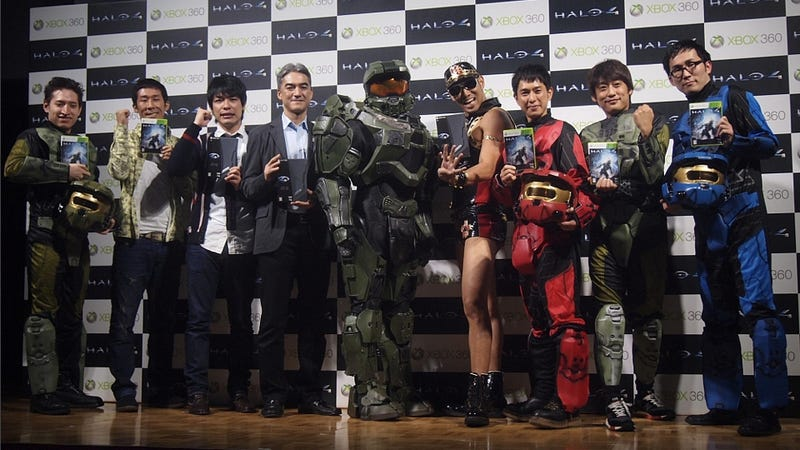 In Japan, There's Halo 4 with Hard Gay