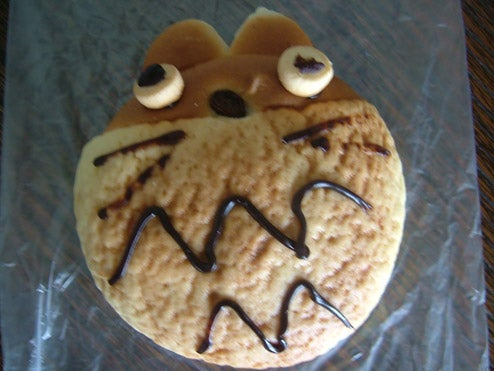 Totoro, Reproduced In Bread And Chocolate