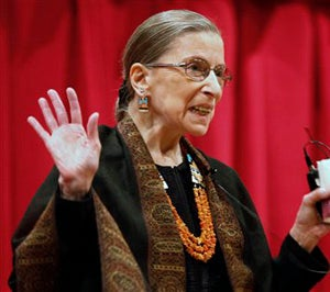 Awesome, Honorable Ruth Bader Ginsburg Explains It All To You