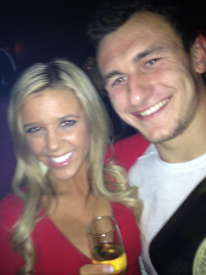 Here Are A Couple Pictures Of Johnny Manziel Having A Nice Time At A Nightclub After His Cotton Bowl Win [UPDATED]