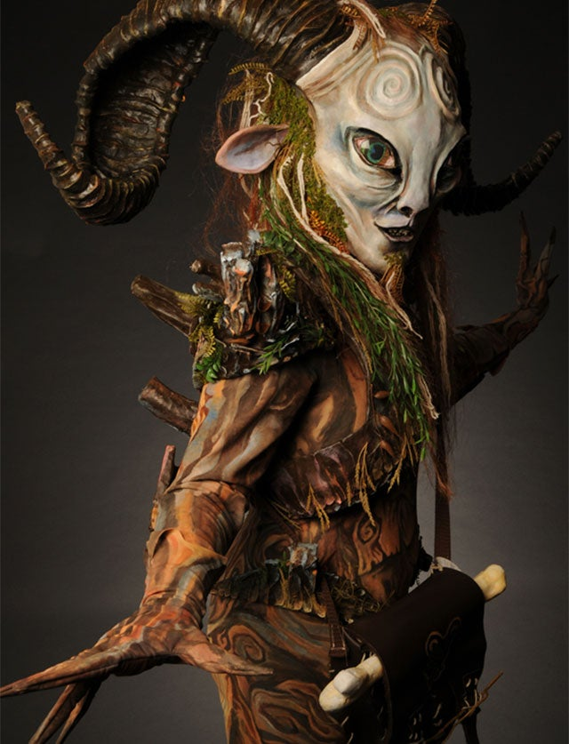 Oh Hi, Creepy/Awesome Pan's Labyrinth Cosplay