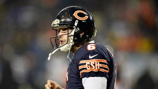 Jay Cutler Has Been Benched For ... Jimmy Clausen? Wait, Really?