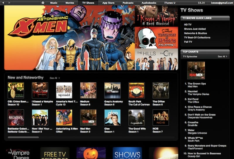 Apple Wants iTunes to Replace Your Cable Box for 30 Bucks a Month
