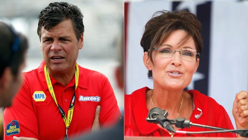 Sarah Palin Ticked Off At Michael Waltrip For Harmless 'Strategery' Comment