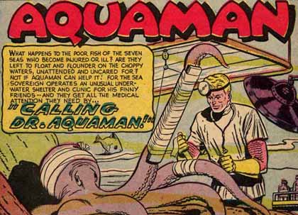 Why Aquaman is the best damn superhero in comic history