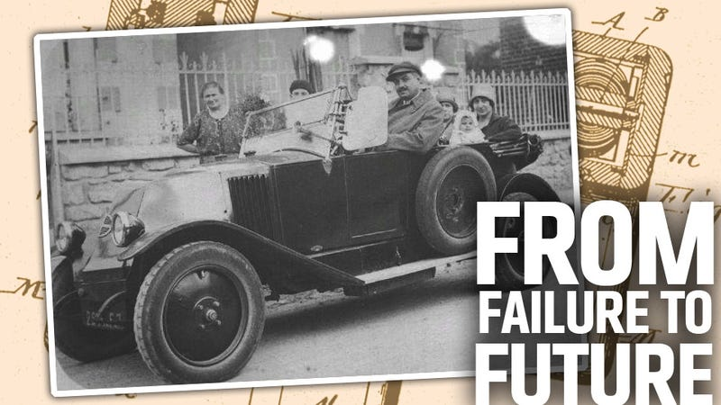 Does This Century-Old Prototype Hold The Answer To Electric Car Range Issues?