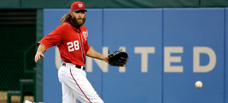 Nats' Jayson Werth Nailed In Virginia For Driving 105 MPH In A 55 Zone