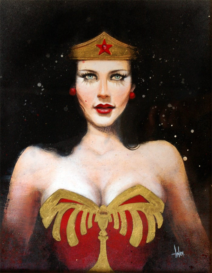 Geek girls paint geek icons, and the results will make you smile