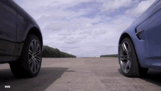 Can A Crossover Out Drag A BMW M3?