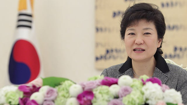 South Korea Has a Female President Now