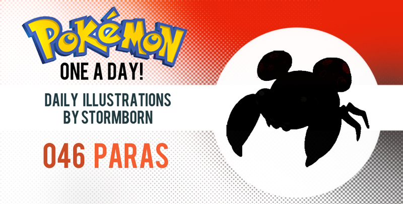 Let's take a peek at Paras! Pokemon One a Day!