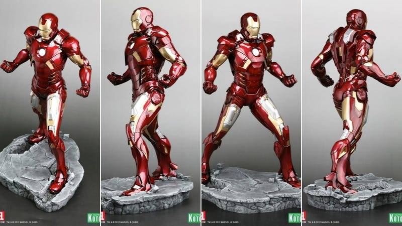 Japan Makes a Nice Iron Man Statue
