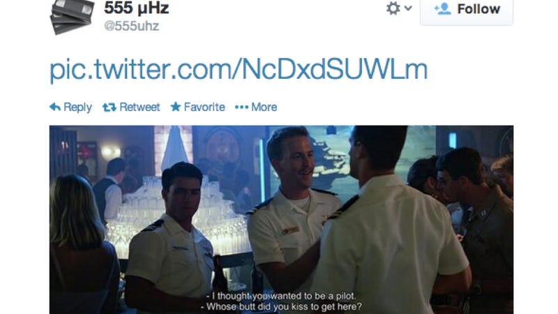 Someone Is Tweeting Top Gun One Frame At A Time