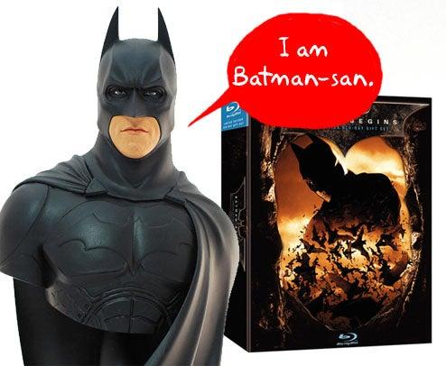 Japan Gets Batman Bust With Batman Begins Blu-Ray Set