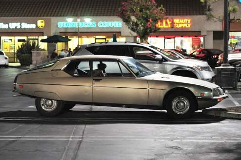 Porn Valley Citroen SM Drives To The Strip Mall Like Any Other Car!