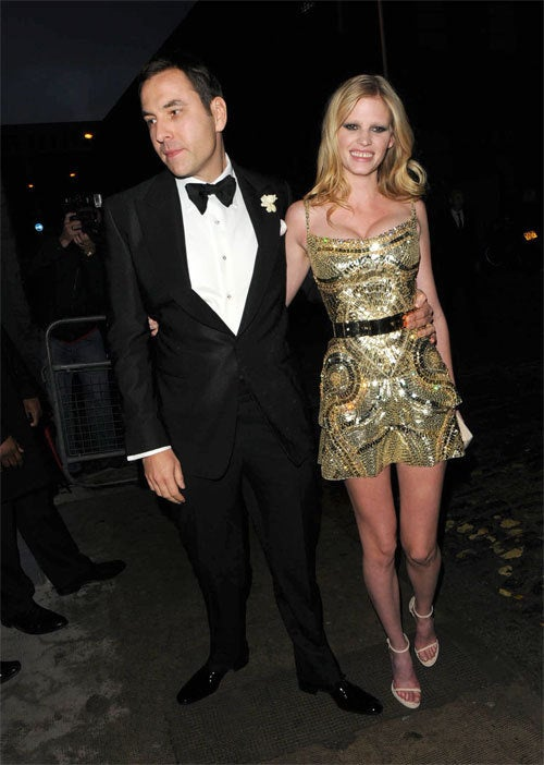 Supermodel Weds In London; Marc Jacobs Gets A Delivery of Cocaine