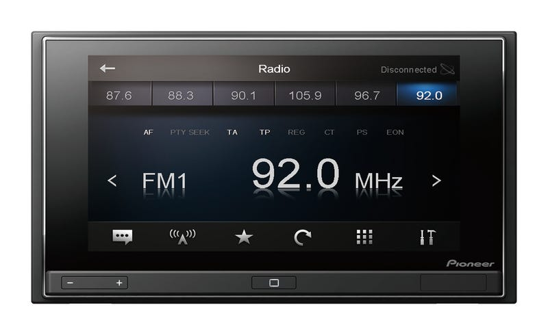Pioneer AppRadio: Imagine Your Entire Car Stereo System, Powered By a Smartphone