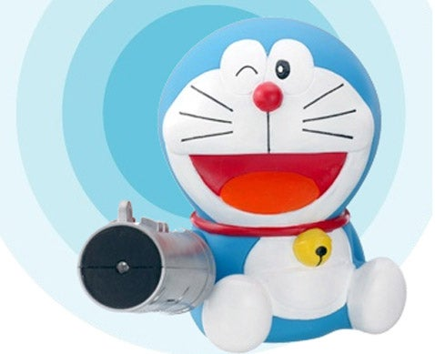 Doraemon Voice Activated Air Pistol Remote: Finger Bang Indeed