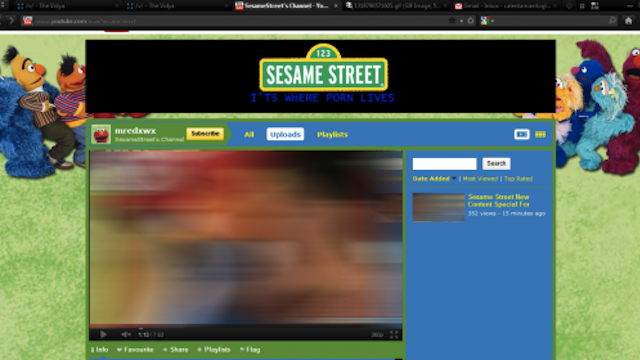 Sesame Street's YouTube Account Got Hacked with Porn Videos