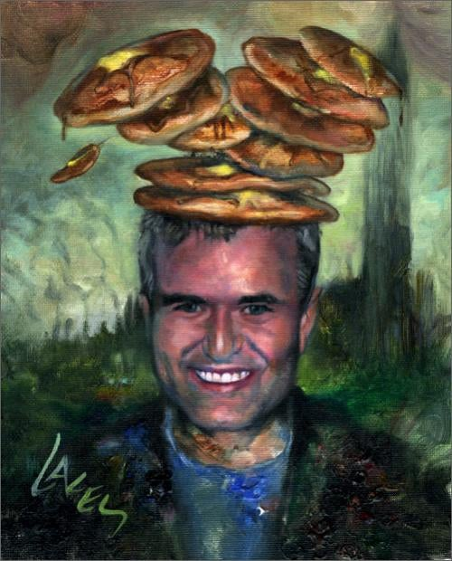 Nick Denton, With Pancakes