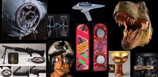 Hover Boards, Holy Grails and TIE Fighters Fill Hollywood Prop Auction's Geek Memorabilia Motherlode