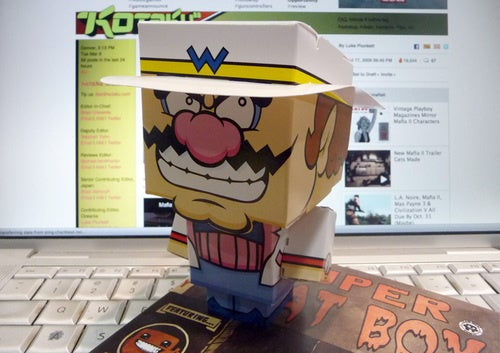 WarioWare Papercraft The Easiest DIY Project At GDC