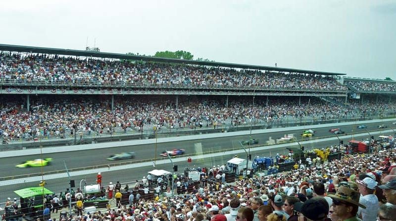 Indy 500: And They're Off... To A Yellow