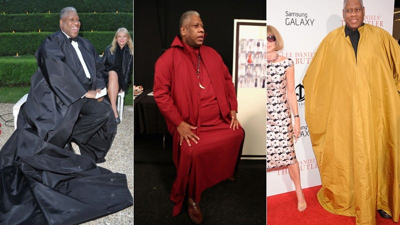 Andre Leon Talley and His Caftans Reject the Gay-Straight Binary, TYVM