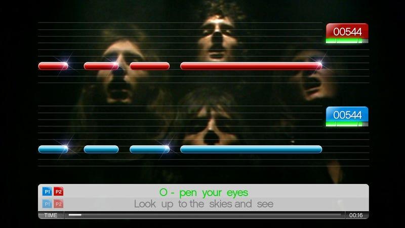 What's In SingStar: Queen Anyway?