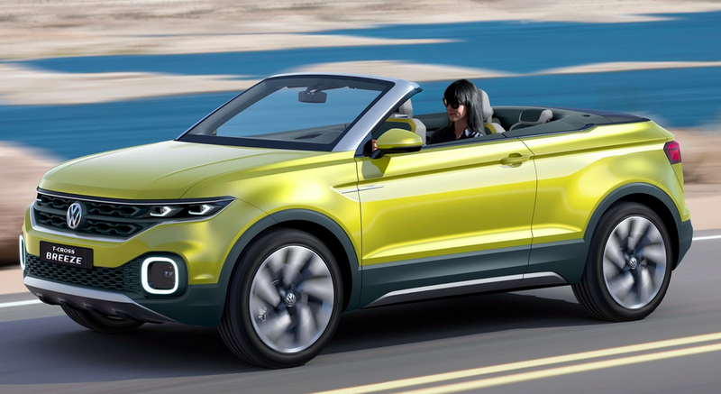 The Volkswagen T-Cross Breeze Concept Could Own The Lucrative Convertible SUV Market