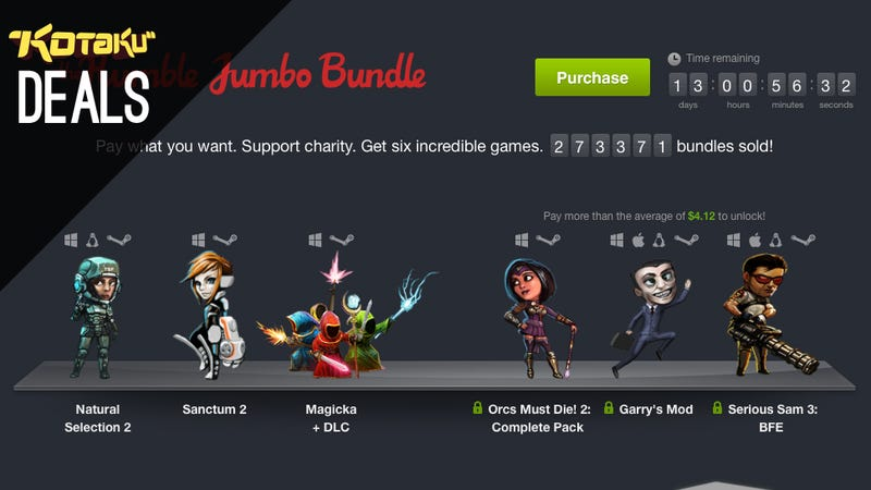 Humble Bundle, Fire Emblem: Awakening, Walking Dead Season 2 [Deals]