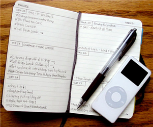 Turn Your Moleskine into a Full-On Planner