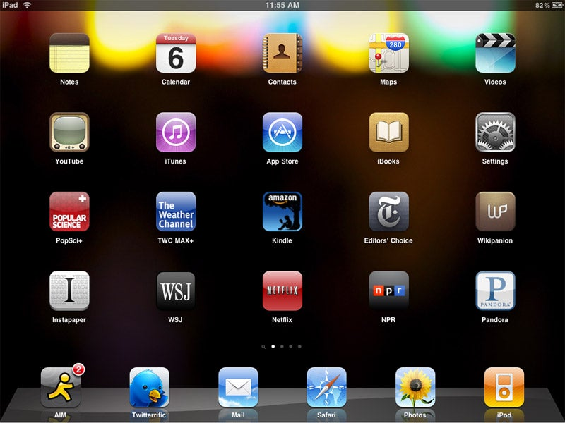 Understanding the iPad's Software