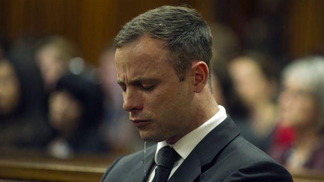 Oscar Pistorious and His Tears Are Angling for Community Service