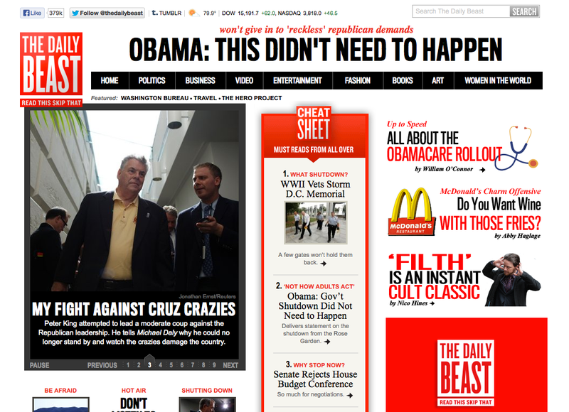 The Daily Beast Lays Off 20
