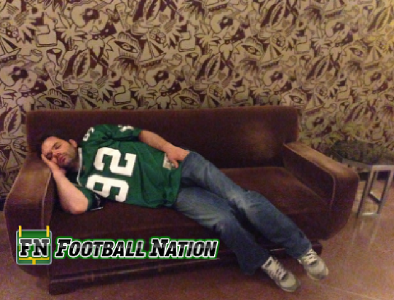 Eagles Fan Attends Draft, Passes Out Before Philly Even Picks