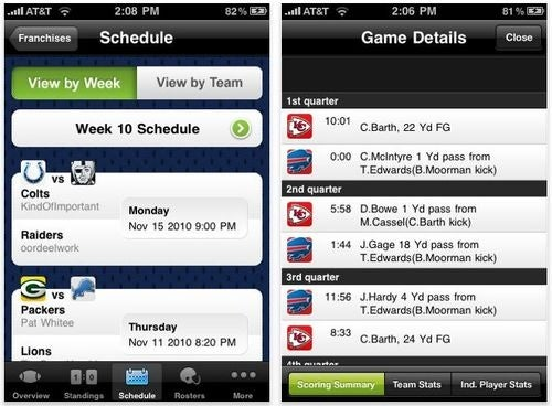 Newest Madden iPhone Management App Now Available
