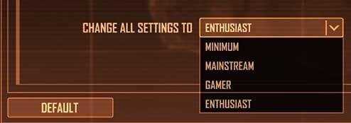 Crysis Warhead Has Stupid Graphics Settings