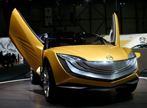 Geneva Showcase: Mazda Hakaze Concept