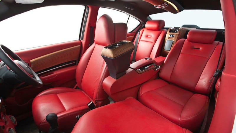 This Is The Interior Of A Real Nissan Versa And Not A Joke