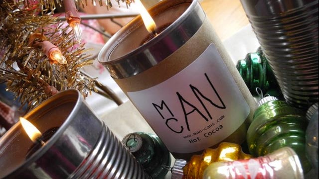 Teen Boy Invents Leather And Pizza-Scented Candles For Men