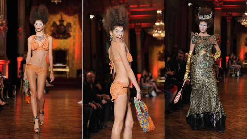 Vivienne Westwood, for the Demented Disowned Royal Heiress in You