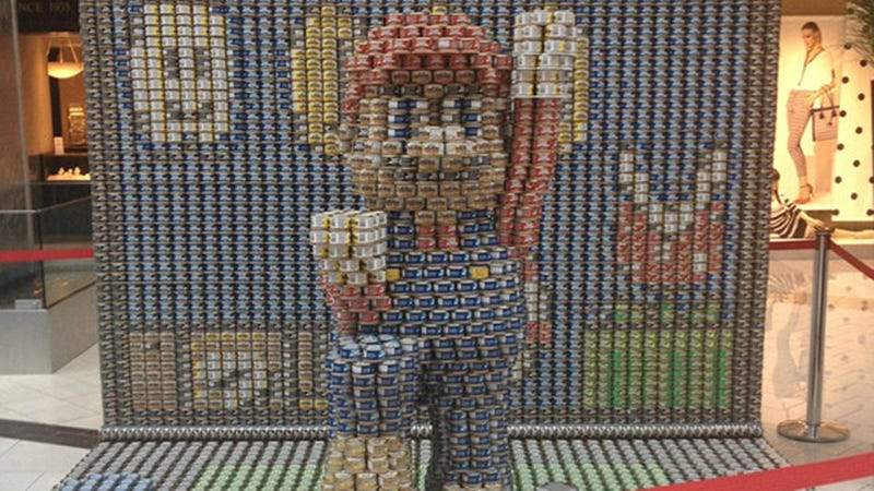 Canned Food Super Mario Looks Better in 3D