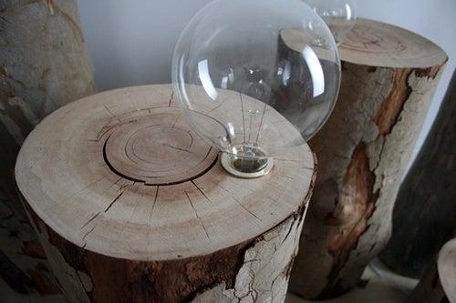Stump Light: Light From a Stump